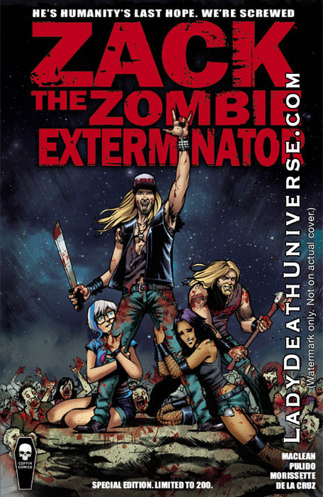 Zack the Zombie Exterminator - Special Edition Trade Paperback