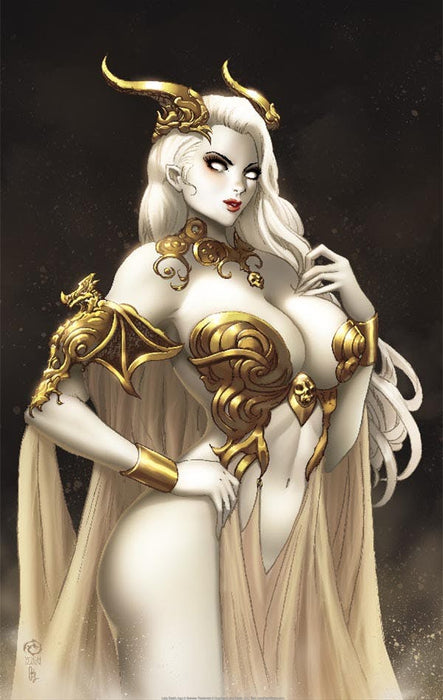 "Lady Death: Dragoness 11x17"" Print"