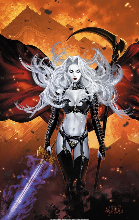 "Lady Death: Fiery Inferno 11x17"" Print"