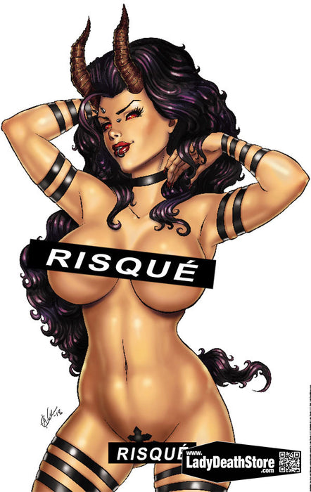 "Hellwitch: Naughty Tape Frontside 11x17"" Print"