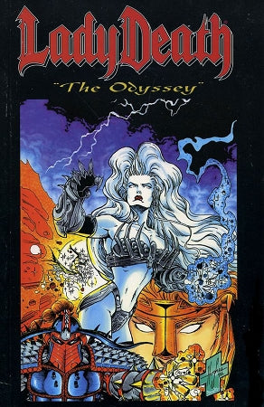 Lady Death: The Odyssey Trade Paperback