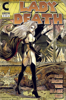 Lady Death: Unholy Ruin #1 (of 2) - Comic Shop Homage Damaged Edition