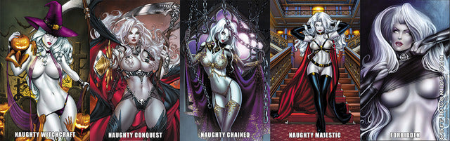 Lady Death: Chaos Rules Naughty Print Set