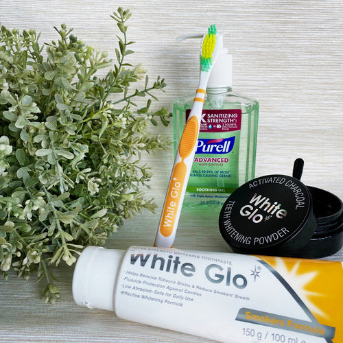 (With Hand Sanitiser) Bundle | Smokers' Formula Toothpaste + Charcoal Powder