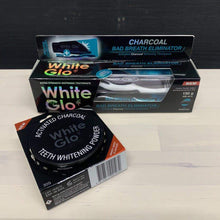 Load image into Gallery viewer, Bundle | Charcoal Bad Breath Eliminator Whitening Toothpaste + Activated Charcoal Powder