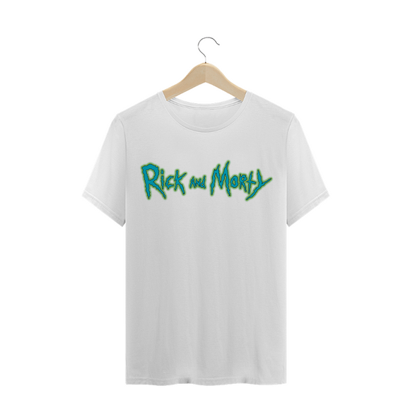 Camiseta - Rick and Morty Masculino - Nice Shop