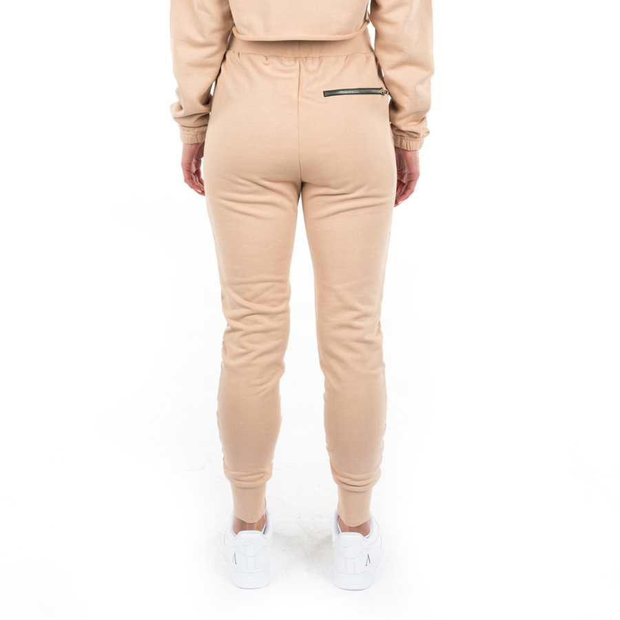Tuscan Beige Slim Sweatpants