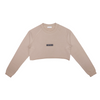 Tuscan Beige Crop Top