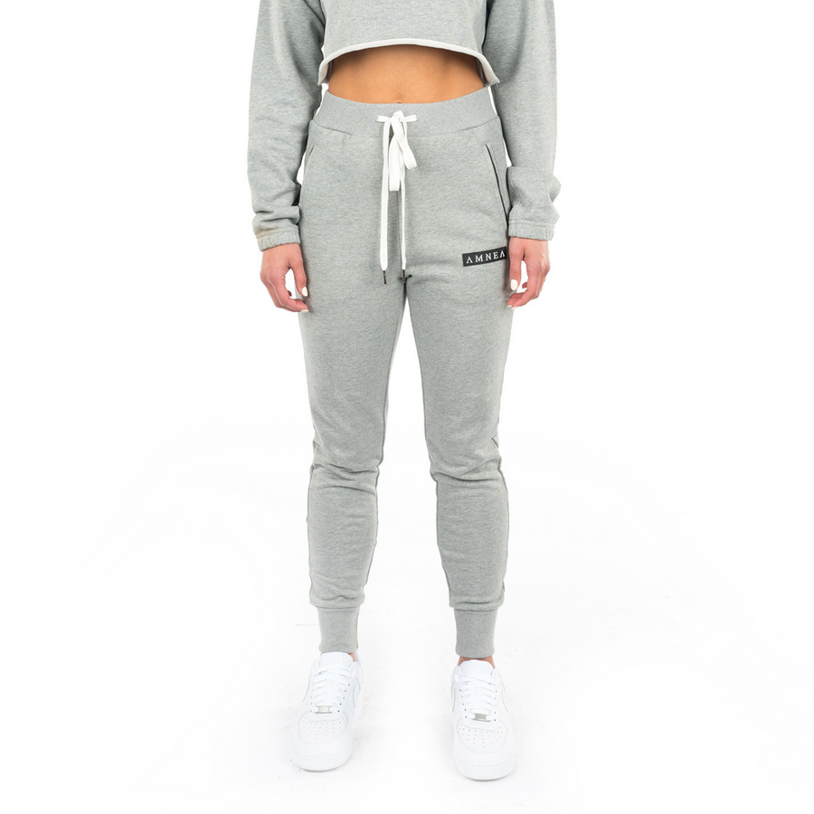 Concrete Grey Slim Sweatpants