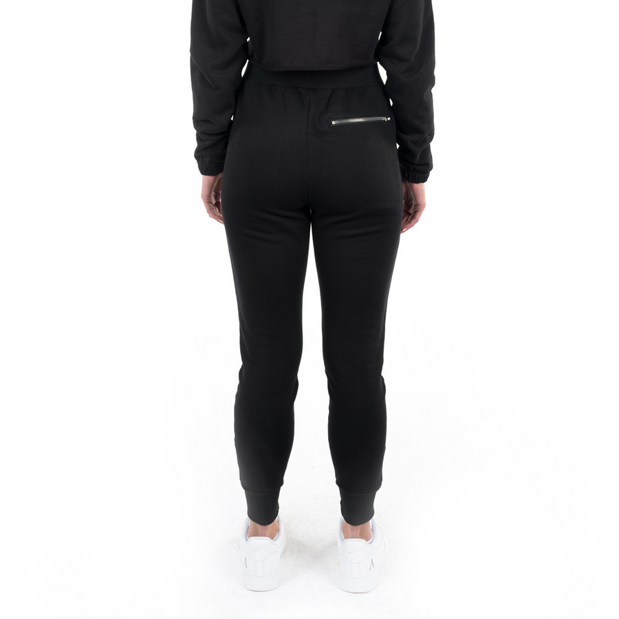 Onyx Black Slim Sweatpants
