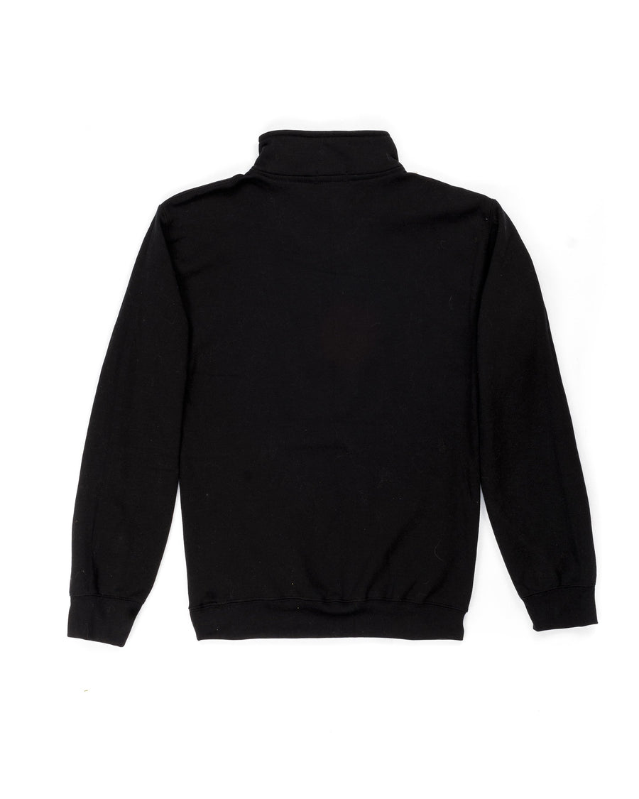 Lightweight Onyx Black Quarter-Zip