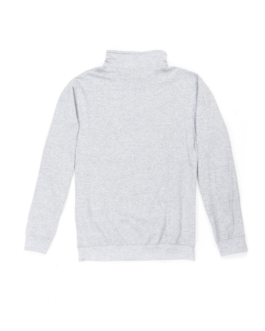 Lightweight Concrete Grey Quarter-Zip