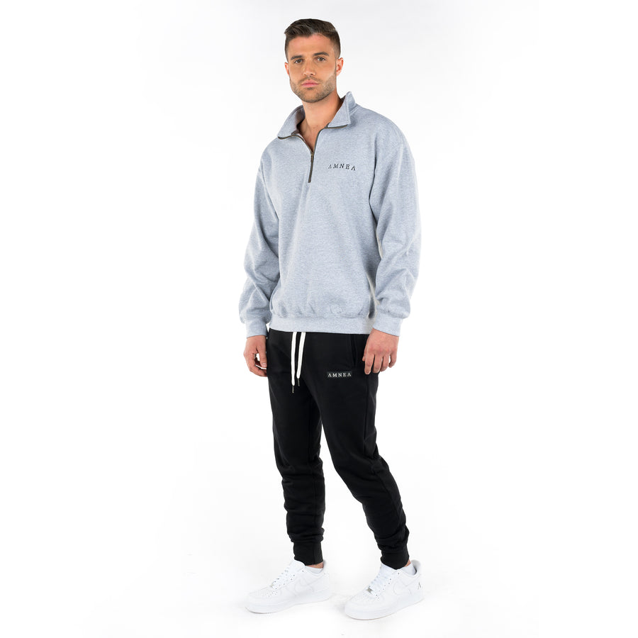 Concrete Grey Quarter-Zip