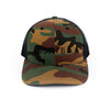 Black Camo Trucker Hat