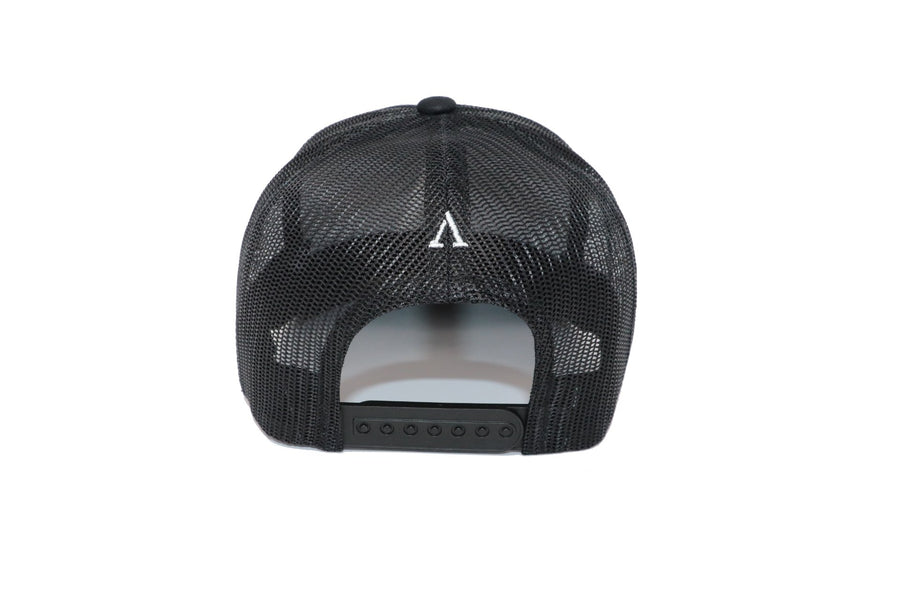 Signature Onyx Black Trucker Hat