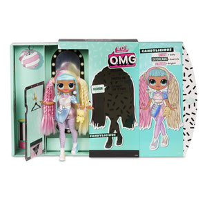 Lol Surprise Omg Candylicious Fashion Doll With 20 Surprises