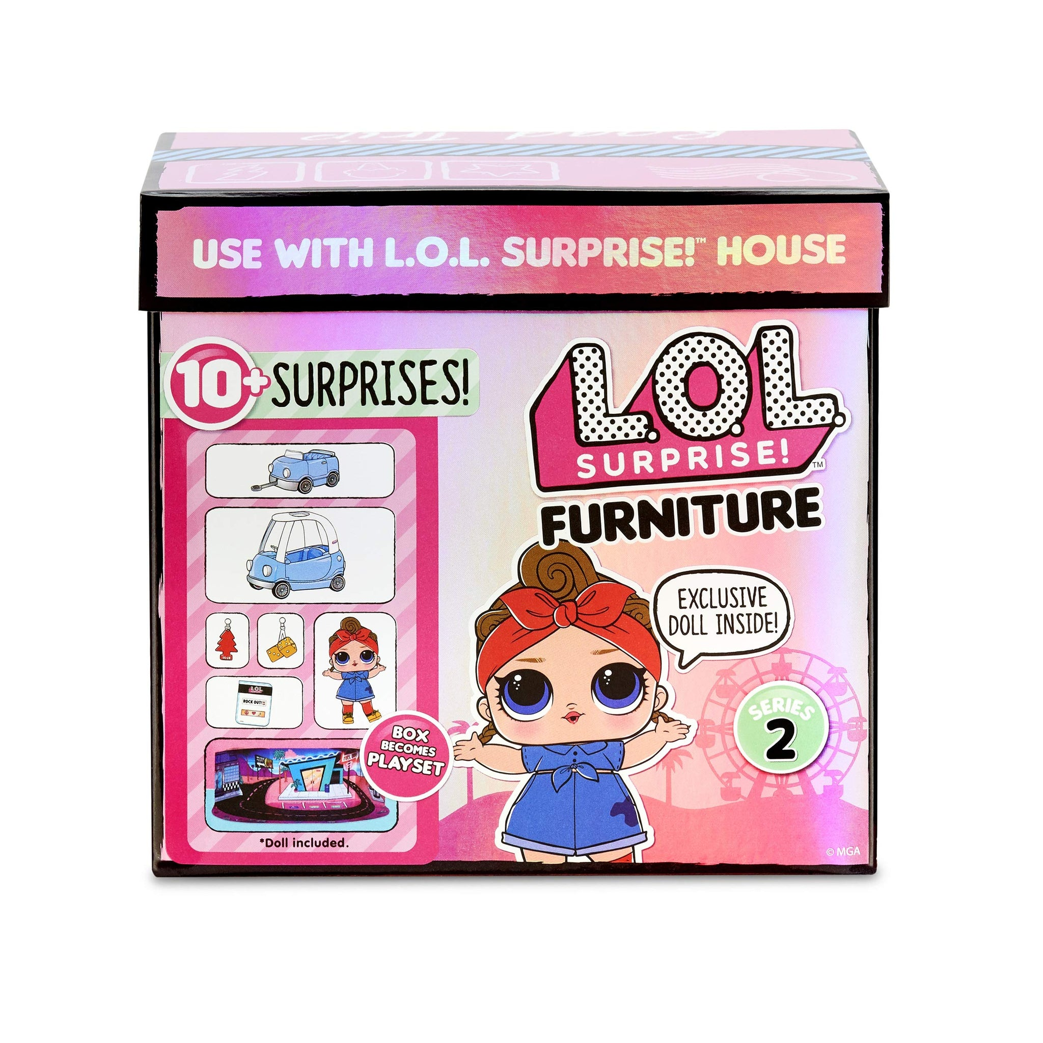 Surprises Furniture Road Trip with Can Do Baby /& 10 L.O.L Surprise