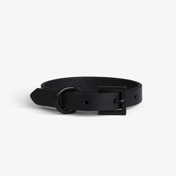 Black on Black Collar