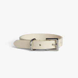 Beige on Silver Collar