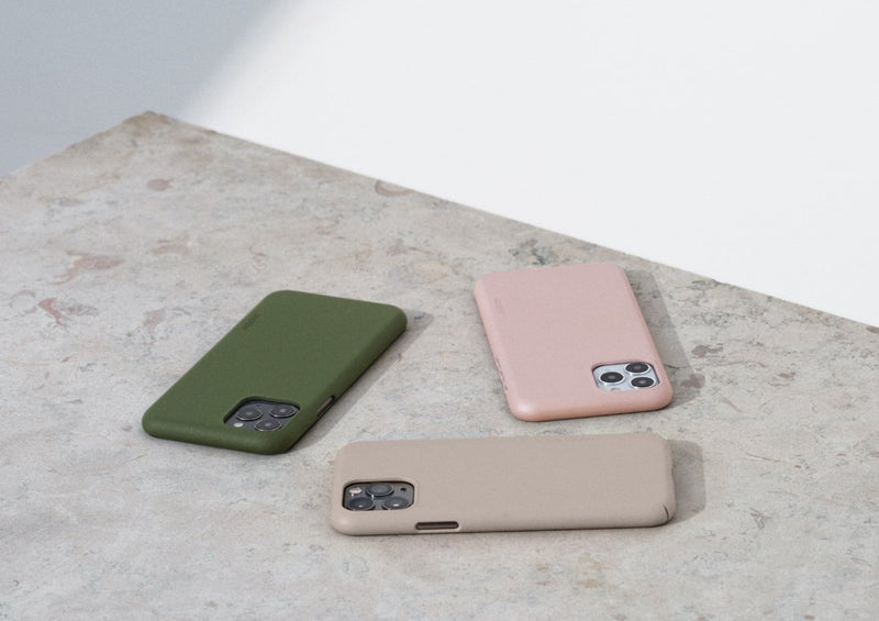 Nudient - Dun iPhone XS Hoesje V3 - Dusty Pink