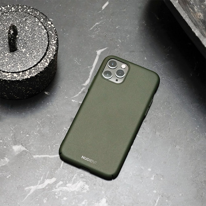Dun iPhone 11 Pro Max 6,5 Hoesje V2 - Majestic Green