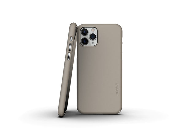 Nudient - Dun iPhone 11 Pro Hoesje V3 - Clay Beige