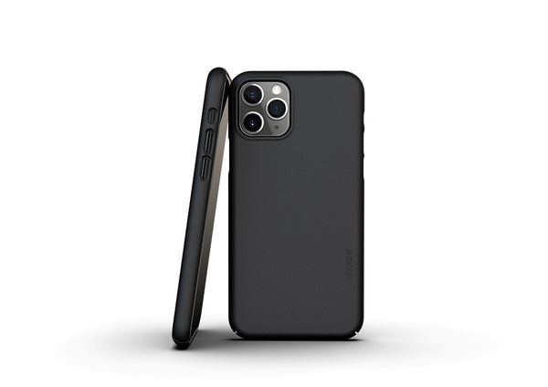 Nudient - Dun iPhone 11 Pro Hoesje V3 - Ink Black