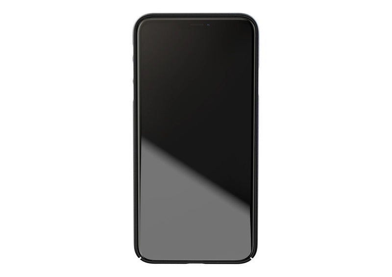 Nudient - Dun iPhone XS Max Hoesje V3 - Ink Black