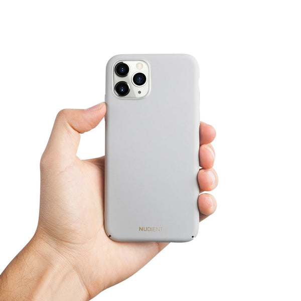 Dun iPhone 11 Pro Max 6,5 Hoesje V2 - Pearl Grey