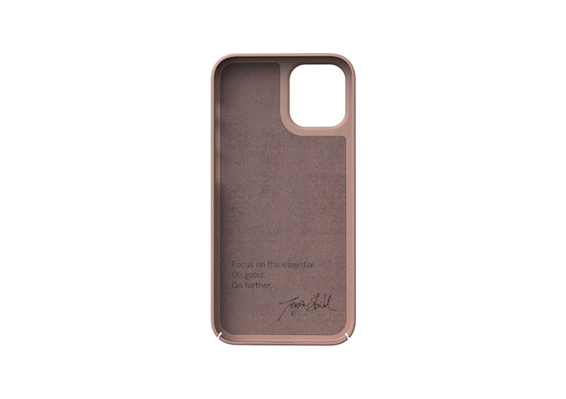 Nudient - Dun iPhone 12 Mini Hoesje V3 - Dusty Pink
