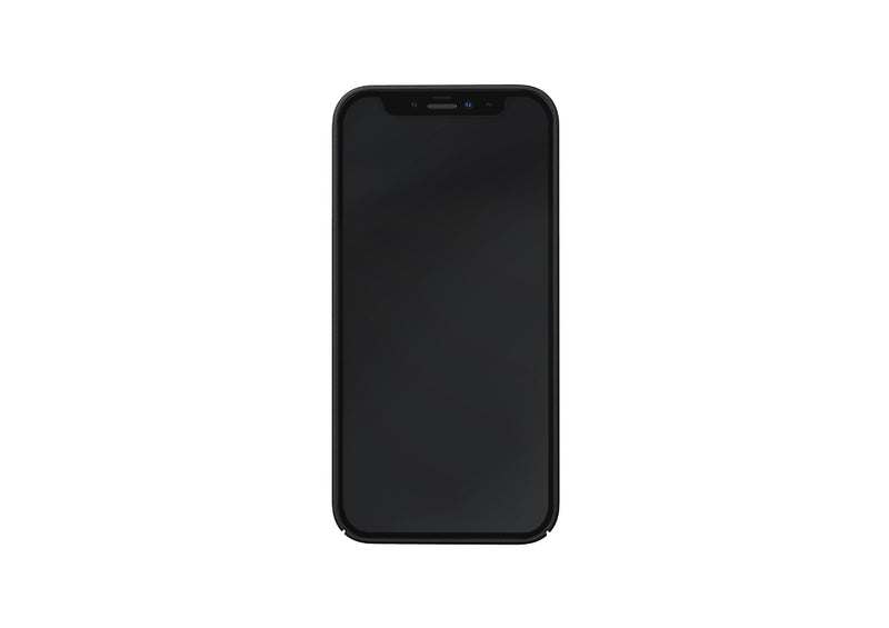 Nudient - Dun iPhone 12 Mini Hoesje V3 - Ink Black