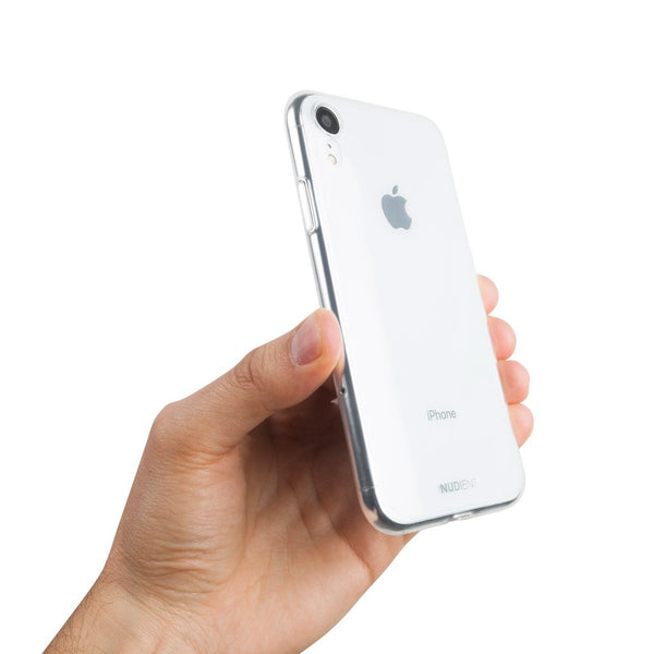 Glanzend dun iPhone XR hoesje 6,1  - 100% transparent