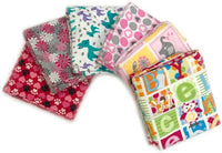 "Flannel Fabric Standard Size 6 Pillow Cases, Durable, Super Soft, Random Color, 20"" x 26"""