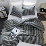 Argstar 3 Pcs Queen Duvet Covers, 100% Cotton, Buffalo Checked Lattice Bedding Set, Plaid Pattern White Comforter Cover with Zipper Ties, 1 Duvet Cover and 2 Pillow Shams