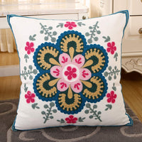 VOGOL YouYee Hand Made National Floral Embroidery Bohemian Housewarming Car Home Decoration Cushion Cover/Throw Pillow Cover