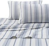 Tribeca Living 1NAPL200PCST Super Soft Heavyweight Flannel 200-GSM Pillowcases, Standard, Navy