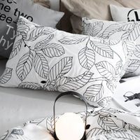 Custom Pillow case 70*70 Pure Cotton Luxury Pillowcase 50*70 50*75 Decorative Pillow Cover Bedding for Hotel Wedding Leaf