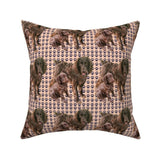 Boykin Spaniel Mother Puppy Throw Pillow Cover w Optional Insert by Roostery