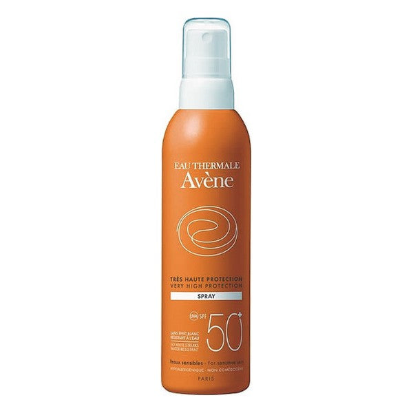 Spray Protecteur Solaire Solaire Haute Sensitive Avene Spf 50+ (200 ml)