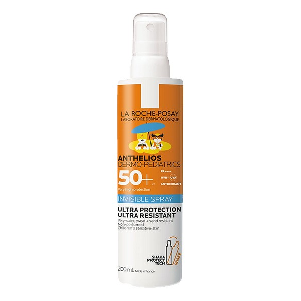 Spray Protecteur Solaire Anthelios Dermo-pediatrics La Roche Posay Spf 50+ (200 ml)