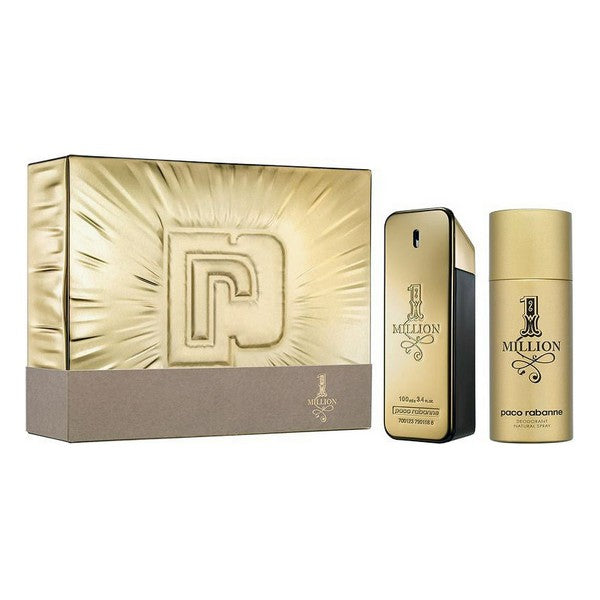 Set de Parfum Homme 1 Million Paco Rabanne EDT (2 pcs)
