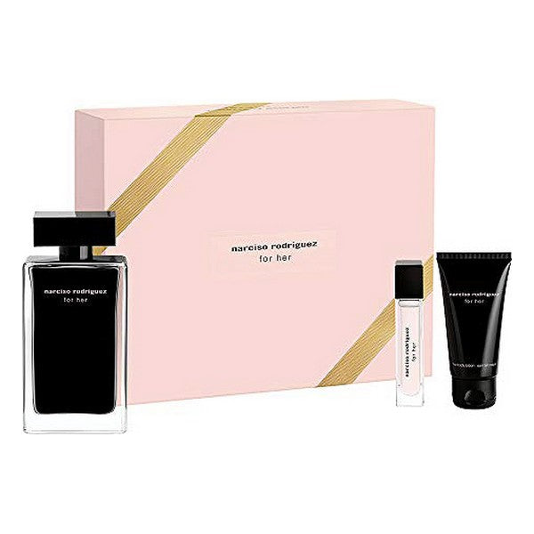 Set de Parfum Femme For Her Narciso Rodriguez EDT (3 pcs)