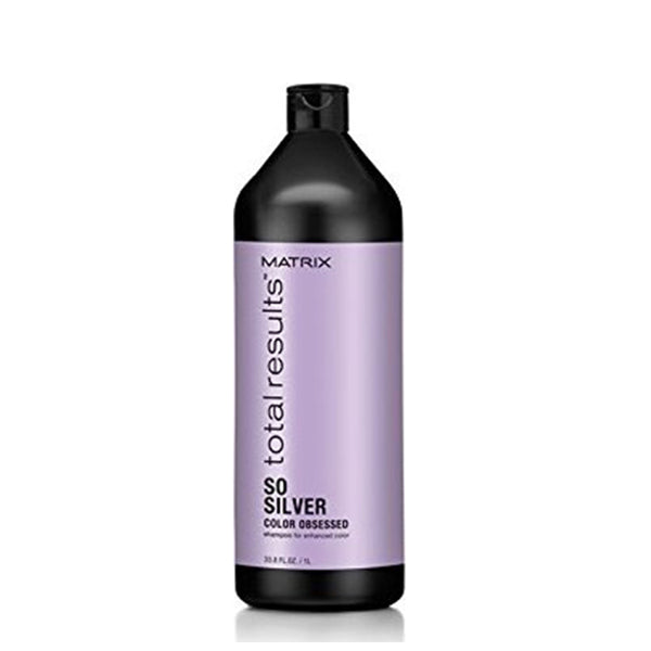 Shampoing Neutraliseur de Couleur Total Results So Silver Matrix (1000 ml)