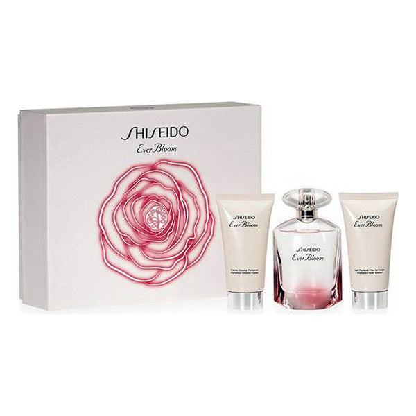 Set de Parfum Femme Ever Bloom Shiseido EDP (3 pcs)
