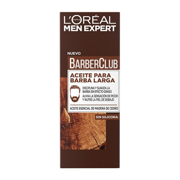 Huile pour barbe Men Expert Barber Club L'Oreal Make Up (30 ml)