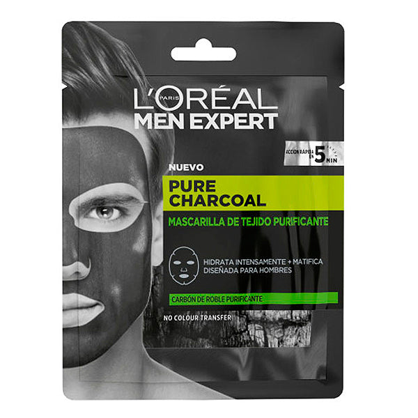 Masque facial Pure Charcoal L'Oreal Make Up