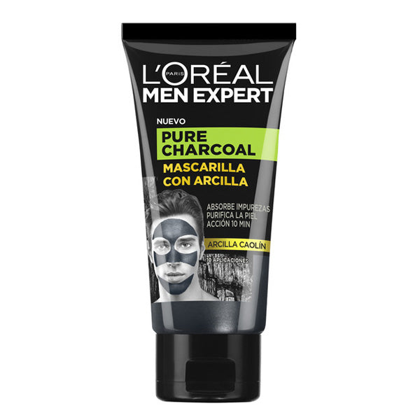 Masque facial Pure Charcoal L'Oreal Make Up (50 ml)