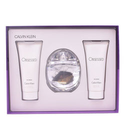 Set de Parfum Femme Obsessed For Women Calvin Klein (3 pcs)