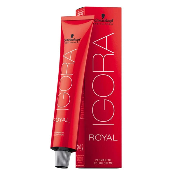 Teinture permanente Igora Royal Schwarzkopf N 5-00 (60 ml)