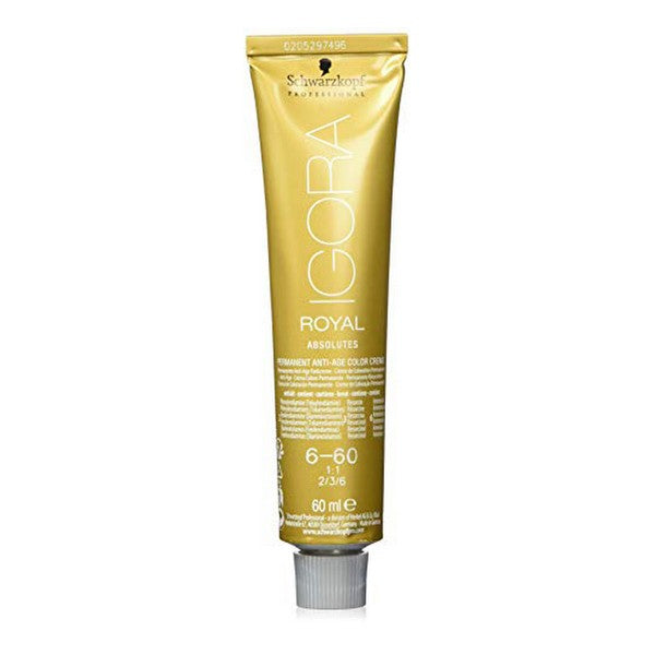 Coloration Permanente en Crème Igora Royal Schwarzkopf (60 ml)